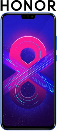 Смартфон Honor 8X 64GB Phantom Blue (JSN-L21)